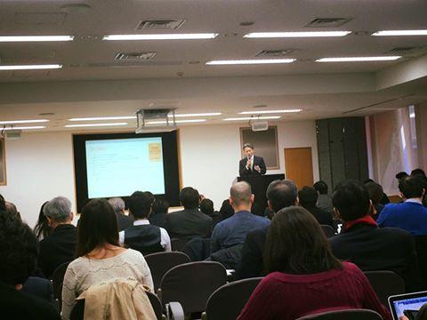 Bコーポレーションについて学びに日本財団に来ています