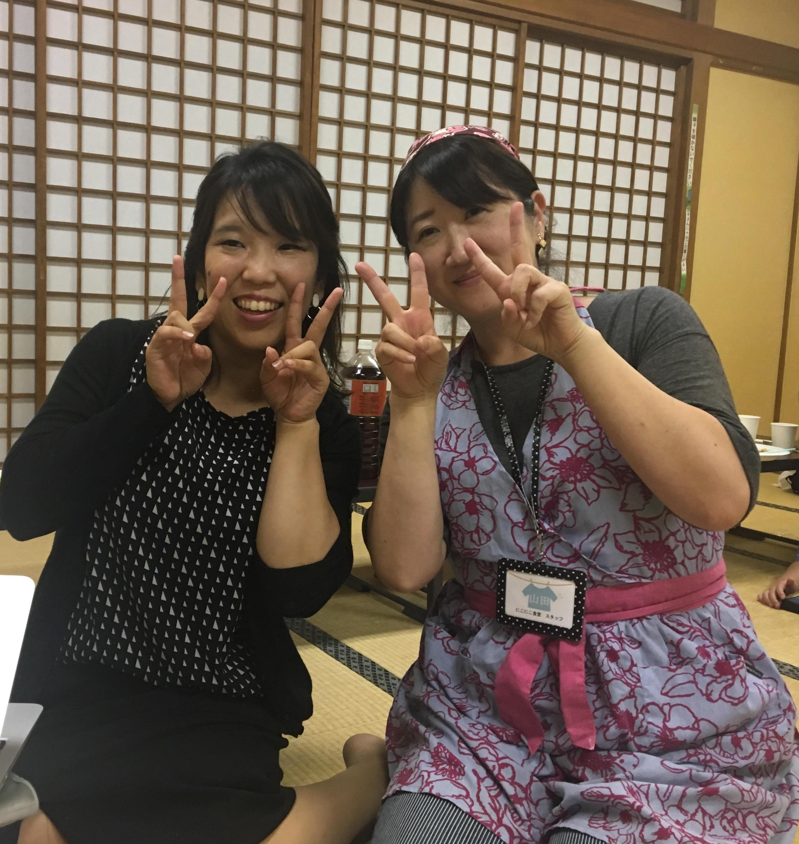 志村坂下の「にこにこ食堂」さんでカレーをいただきました★