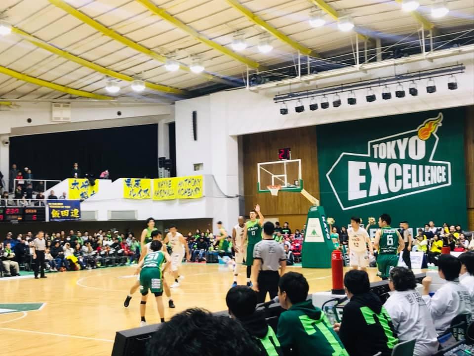 板橋区を本拠地とする『東京エクセレンス』の試合に♬