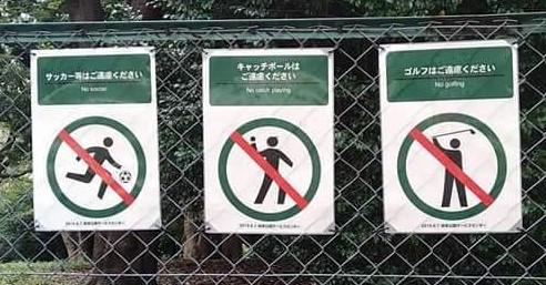 赤塚公園・沖山地区でのボール遊びについて