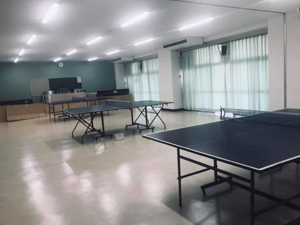 団地の集会所で開催されている卓球サロンへ✿