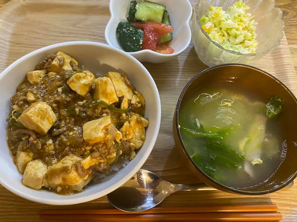 おかえりごはんであっちゃんの麻婆豆腐を作りました☆